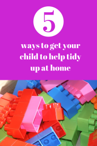 ways to get your child to help tidy up