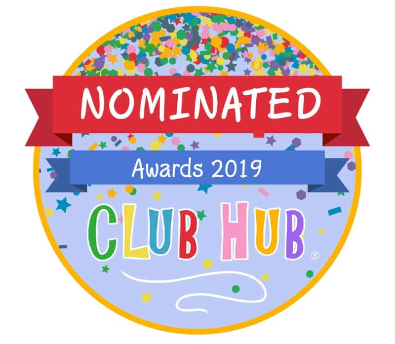 Nominated for Club Hub Awards 2019